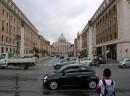 La strada che conduce in Piazza di S. Pietro