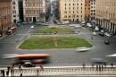 Il centro di Piazza Venezia e Via del Corso