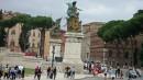 Piazza Venezia davanti al Vittoriano