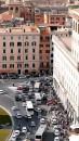 Traffico in Piazza Venezia