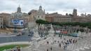 Visuale dall'alto sulla piazza