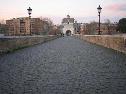 Panoramica di Ponte Milvio