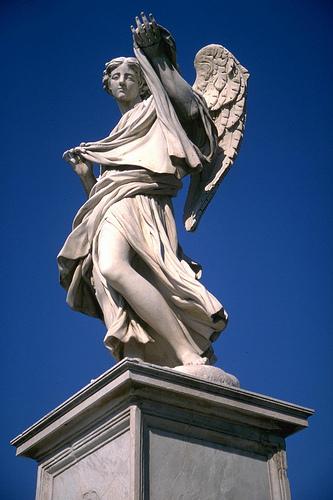 Ponte Sant'Angelo - Statua di un Angelo