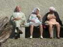Anziani al sole