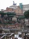 Neve a Roma - Fori Imperiali