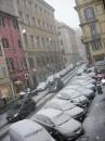 Neve a Roma - Via dei Serpenti