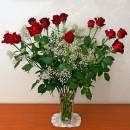 San Valentino nel profumo delle rose