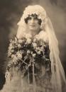Antico ritratto di sposa
