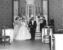 Matrimonio del 1958 in una chiesa romana