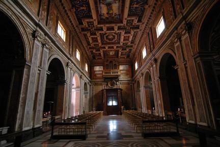 Interno Santa Francesca Romana