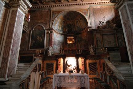 Visuale interno Santa Francesca Romana