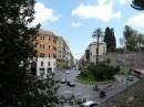 Via Nazionale vista dai Mercati di Traiano