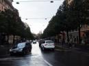 Traffico in Via Veneto