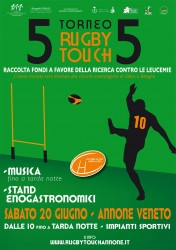 Torneo Solidale Touch Rugby Annone