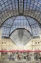 Con la sua struttura in acciaio e il tetto di vetro, il Gum è un gioiello dell'architettura della fine del diciannovesimo secolo