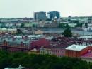 Distruzione del centro storico di Mosca Palazzi nuovi nel centro storico di Mosca (cortesia Maps)