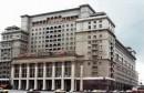 Distruzione del centro storico di Mosca Il vecchio Hotel Moskva