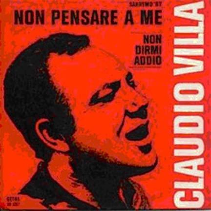 """""""Non pensare a me"""", canzone vincitrice Festival 1967"""