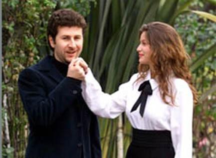 Fabio Fazio e Laetitia Casta: Sanremo '99