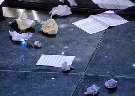 Spartiti a terra: a Sanremo scoppia la protesta