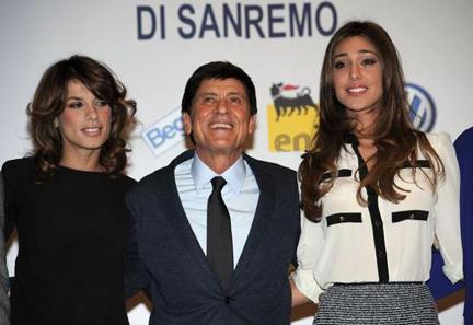 Morandi-Canalis-Belen: la squadra di Sanremo è pronta