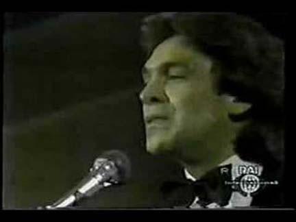 Riccardo Fogli trionfa a Sanremo nel 1983