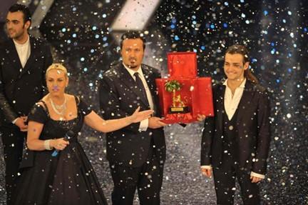 Sanremo 2010: trionfa Valerio Scanu