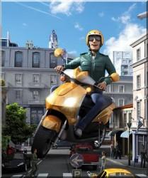 occhio allo scooter