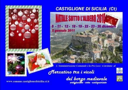 Natale a Castiglione di Sicilia