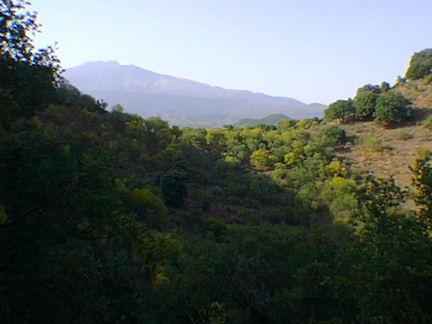 Nicolosi, Parco dell'Etna