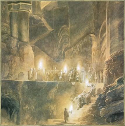 Le illustrazioni di Alan Lee per Lo hobbit