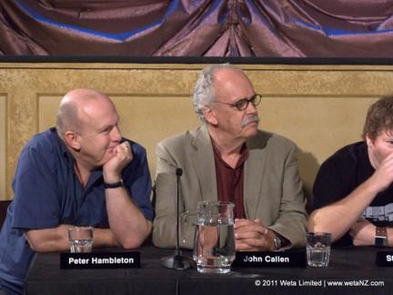 Peter Hambleton (Gloin), John Callen (Oin)