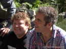 Stephen Hunter (Bombur) e James Nesbitt (Bofur)