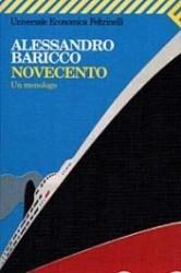 Copertina di Novecento, di Alessandro Baricco