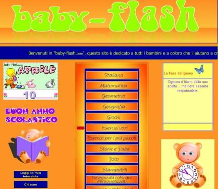 esercizi didattici di Baby-Flash