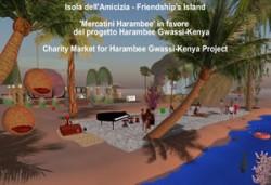 Veduta dell'Isola dell'Amicizia