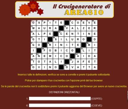 Crucigeneratore free