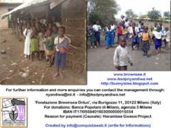 Progetto ONLUS Harambee in Kenya