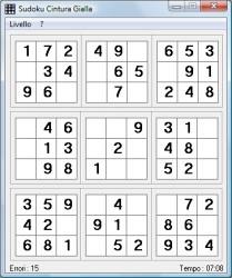 Sudoku semplificato