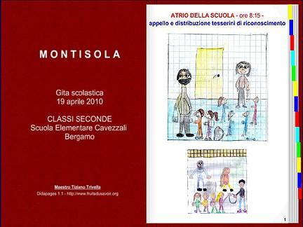 Gita a Montisola: ebook interattivo