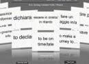 FlashCard: verbi e frasi