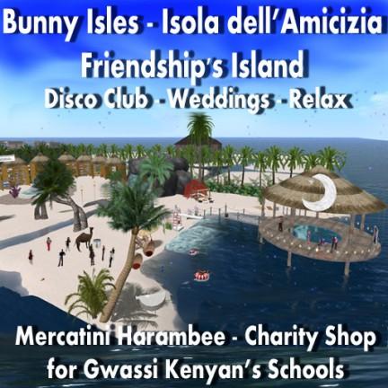 Second Life per il kenya