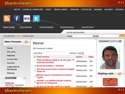 Maestro Roberto - Tecnologie e didattica