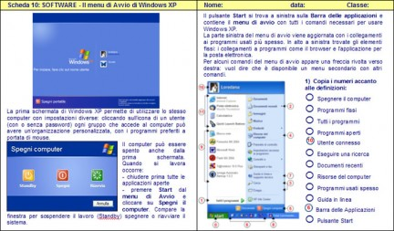 Schede informatica Windows XP