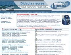schede didattiche software