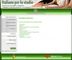 studiare in italiano