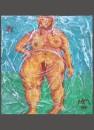 immagini del femminile ( M. Mazzavillani -acrilico e tecnica mista)