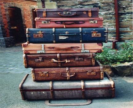 Valigia e bagagli nei sogni