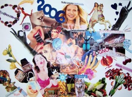 Il collage dei desideri