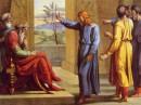 Giuseppe ceh interpreta il sogno del Faraone